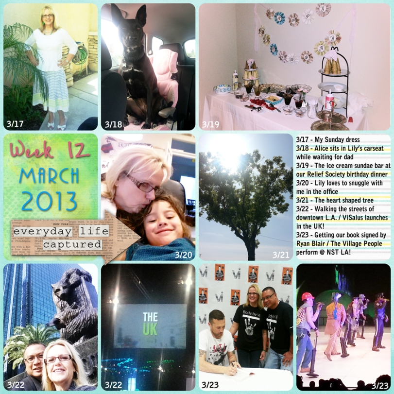 Week 12 - We spent the weekend in LA for the ViSalus NST!